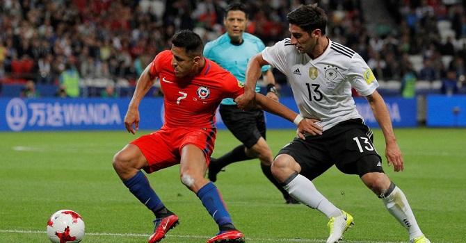 Чили – Германия: считаем удары в створ.