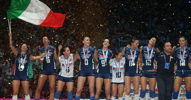 Женская сборная италии волейбол