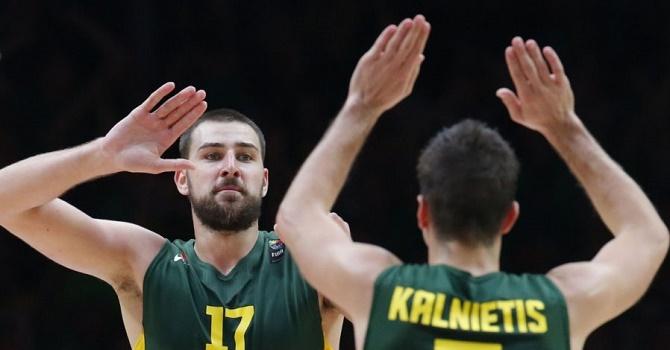 Германия - Литва: матч за первое место в группе.
