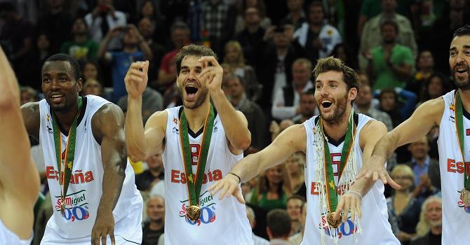 Букмекеры считают Испанию фаворитом в полуфинальном матче Евробаскета-2017.