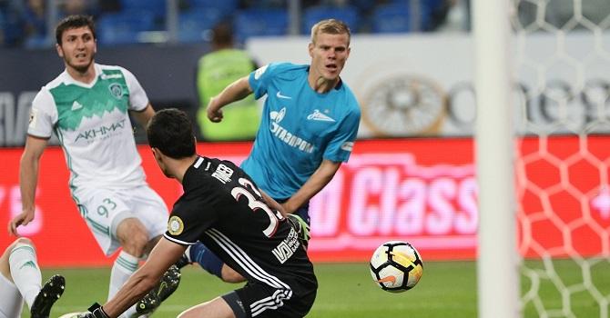 «Краснодар» - «Зенит»: центральный матч тура.