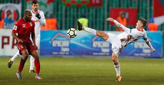 «Локомотив» сыграл вничью вЛиге Европы