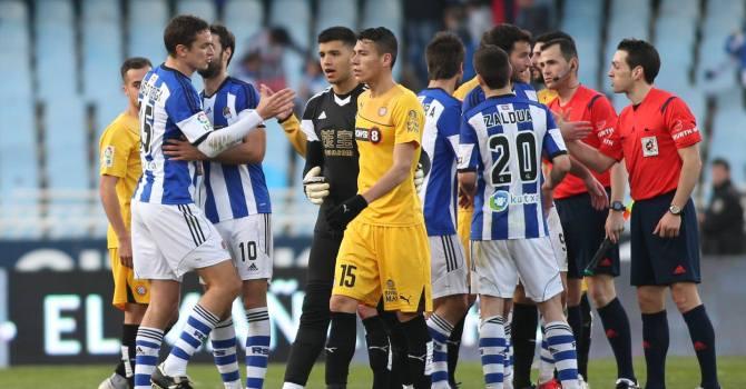 «Реал Сосьедад» дома сыграл вничью с«Эспаньолом»