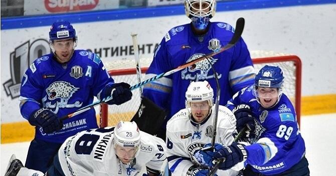 «Йокерит» крупно уступил «Барысу» вматче постоянного чемпионата КХЛ