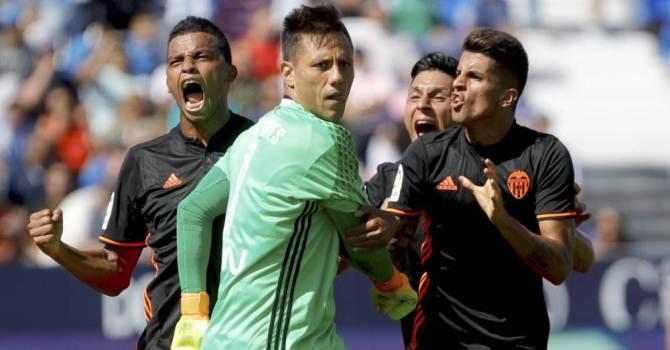 «Валенсия» разгромила «Леганес» исократила отставание от«Барселоны» до1 очка