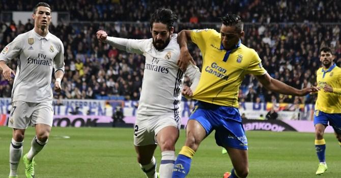 «Реал» разгромил «Лас-Пальмас», отставание от«Барселоны»