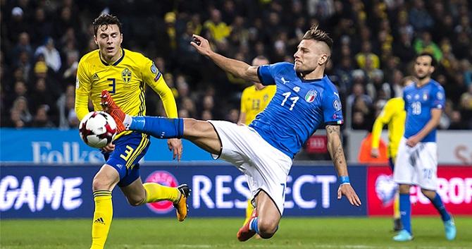 Буффона жалко. Швеция оставила чемпионат мира без Италии