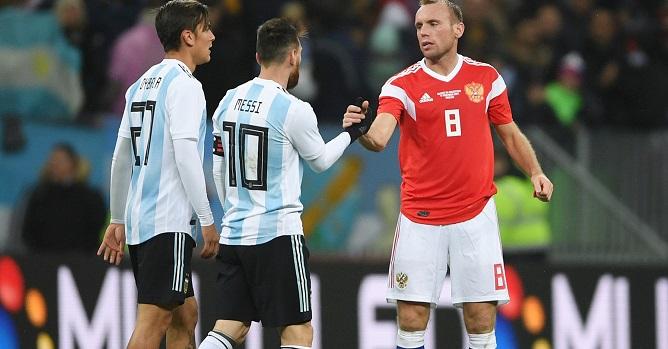 Месси отказался играть в РФ вовтором матче сборной Аргентины