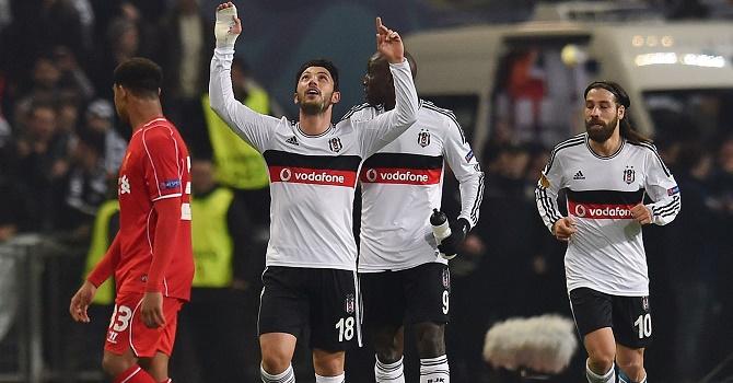 Бешикташ вСтамбуле непроиграл Порту ивышел в1/8 Лиги чемпионов