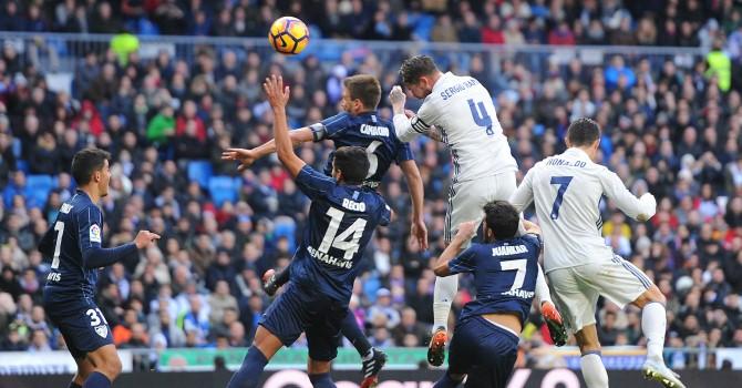 «Реал Мадрид» обыграл «Малагу» виспанской Примере
