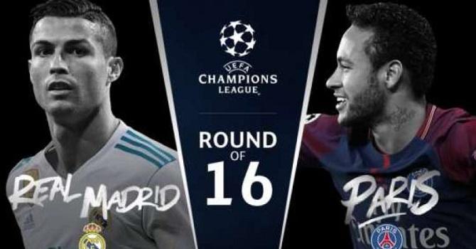 «Реал» Мадрид - ПСЖ: центральный матч 1/8 финала