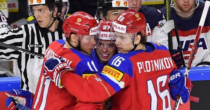 Хоккейная сборная сыграет наКубке Первого канала похоккею— РепетицияОИ