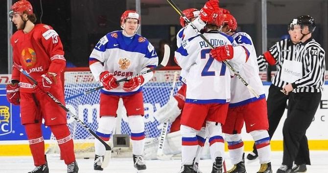 Сборная Российской Федерации похоккею вновогоднюю ночь проиграла начемпионате мира