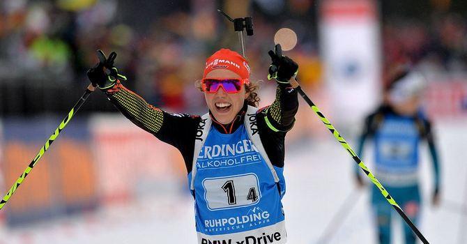 Биатлонистка Вита Семеренко взяла бронзу наэтапе Кубка мира
