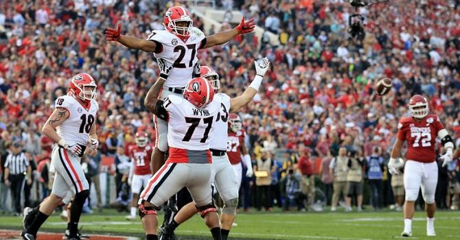 «Джорджия» - «Алабама»: кто станет чемпионом?