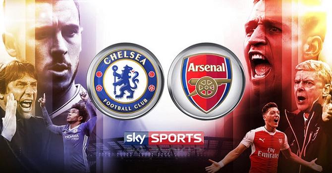 Азар иМората— встартовом составе «Челси» наматч с«Арсеналом»