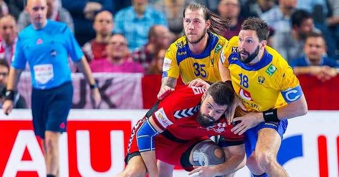 Встартовом матче чемпионата Европы белорусские гандболисты одержали победу