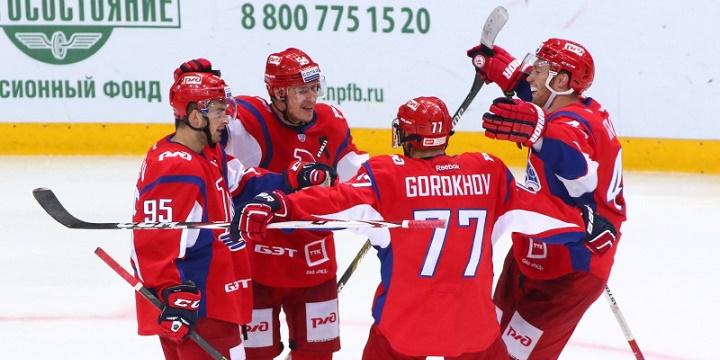 «Локомотив» победил «Северсталь», команды забросили 11 шайб надвоих