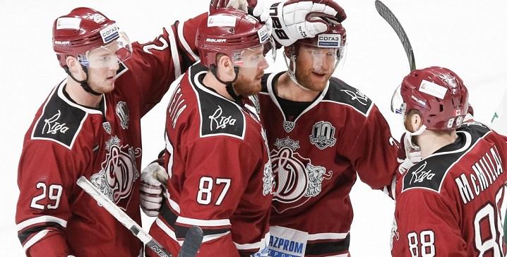 Минское «Динамо» выиграло наоткрытом воздухе вРиге— КХЛ