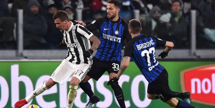 «Интер» и«Рома» сыграли вничью вчемпионате Италии