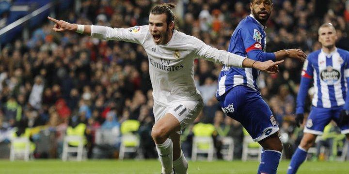 «Реал» разгромил «Депортиво» вматче чемпионата Испании пофутболу
