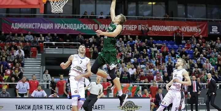 ПБК «Локомотив-Кубань» дома одержал победу над «Химками»