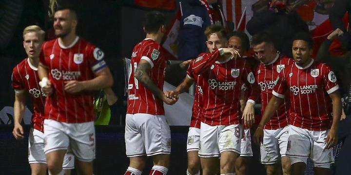 «Манчестер Сити» вышел вфинал Кубка лиги, вырвав победу у«Бристоль Сити»