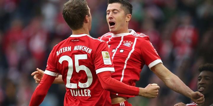«Бавария» разгромила «Хоффенхайм», отыгравшись сосчёта 0:2