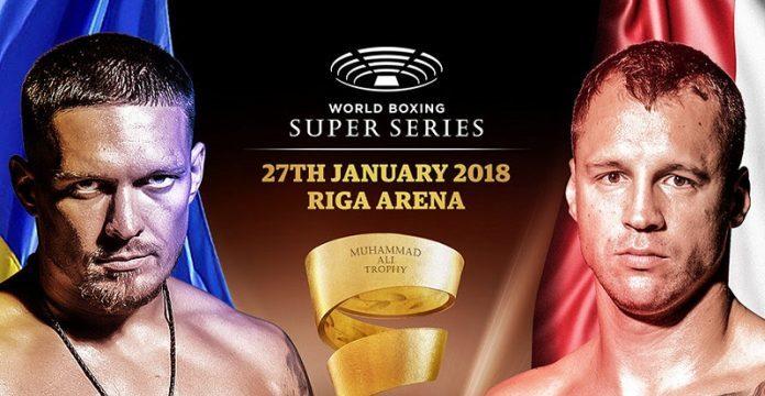 Усик одержал еще одну победу ивышел вфинал глобальной суперсерии бокса