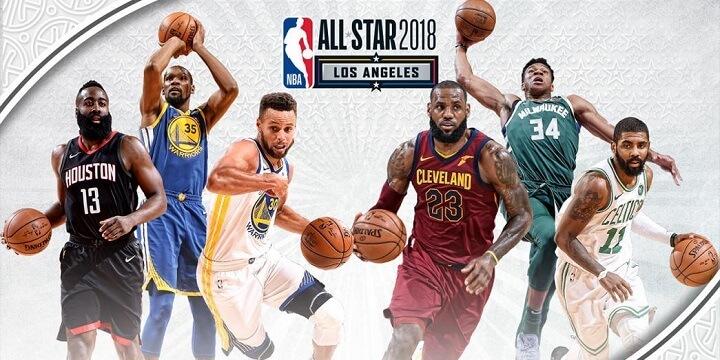 Матч всех звезд НБА-2018: достанется ли победа команде Леброна Джеймса?
