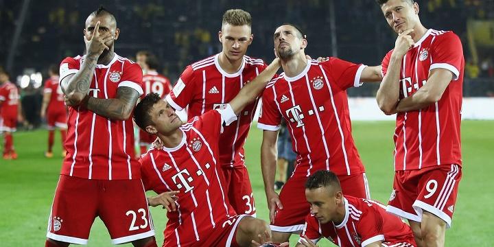 «Бавария» - «Бешикташ»: считаем голы