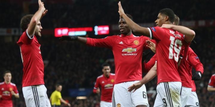 «Севилья» и«Манчестер Юнайтед» разошлись миром вЛиге чемпионов