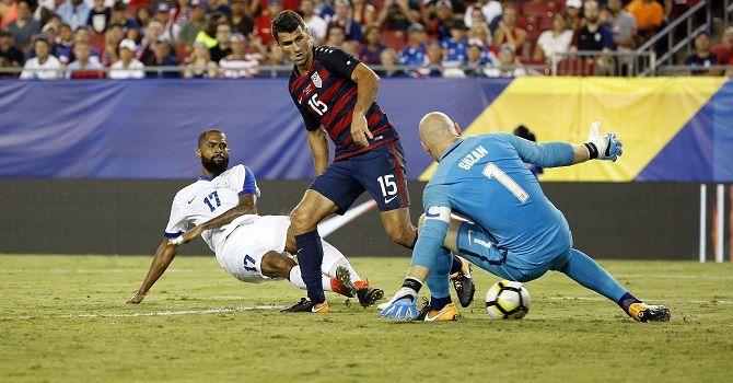 США – Сальвадор: легкий путь в полуфинал.