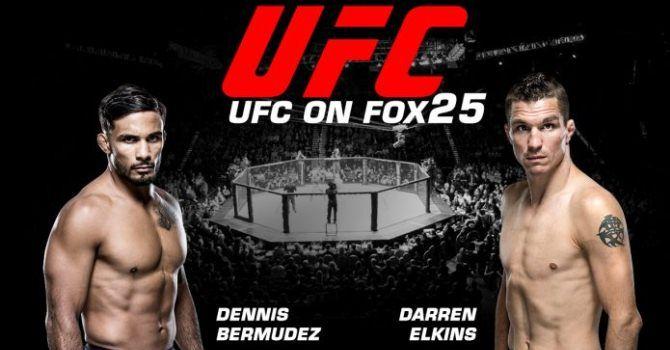 Прогноз на UFC. Даррен Элкинс – Деннис Бермудес