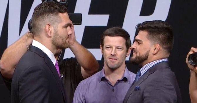 Прогноз на UFC. Крис Вайдман – Келвин Гастелум