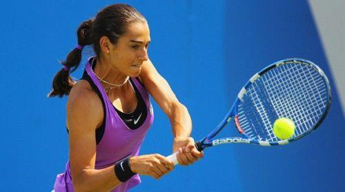 Гарсия - Синякова: француженка рвется в финал.