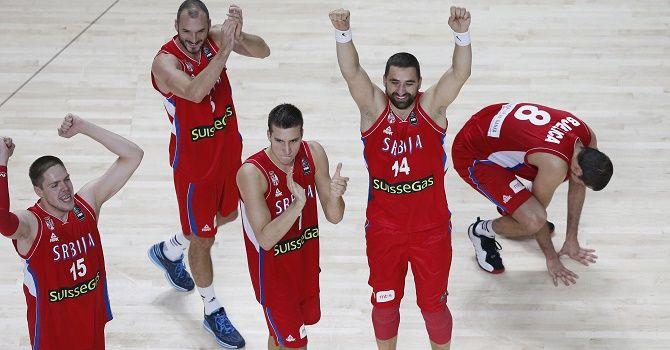 Сербия - Турция: как сыграют турнирные соседи.