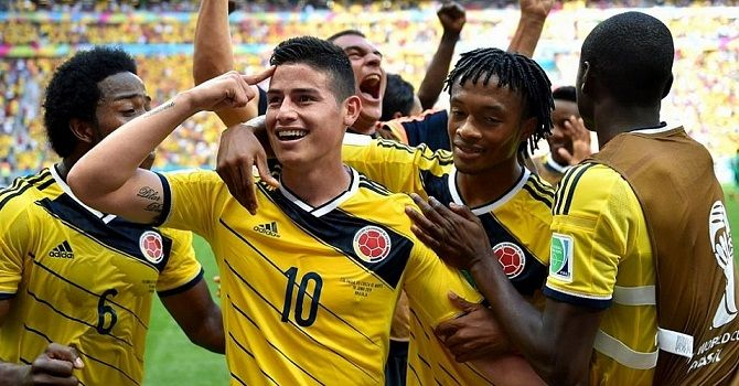 Колумбия – Бразилия: кто остановит пентакампеонов?