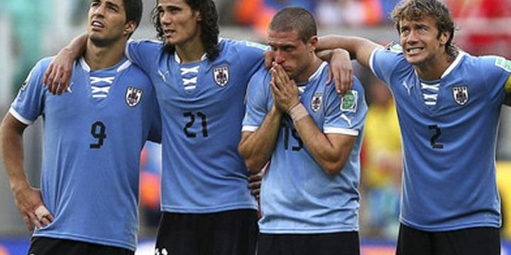 Уругвай победил Чехию ивышел вфинал China Cup