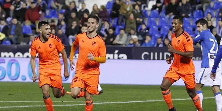 Гол Родриго Морено принес «Валенсии» победу над «Леганесом» вчемпионате Испании