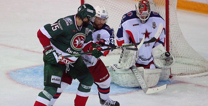 Ак Барс- ЦСКА ставить ли на тотал меньше