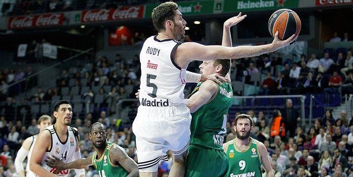 «Реал» сравнял счёт всерии с«Панатинаикосом» в ¼ финала баскетбольной Евролиги