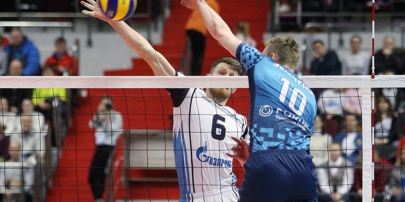 «Зенит-Казань» вышел вперед в заключительной серии чемпионата Российской Федерации поволейболу