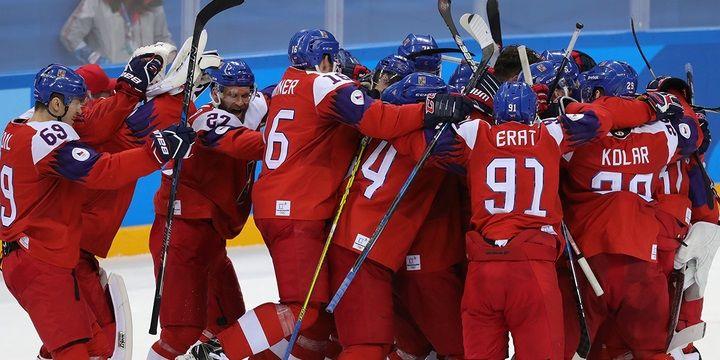 Сборная Финляндии одолела команду Чехии вматче Шведских игр