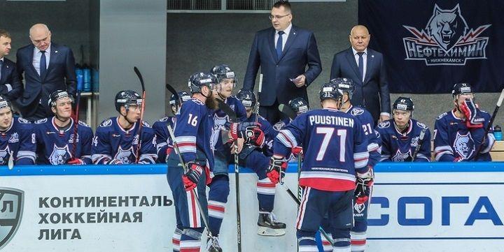 «Амур» победил «Нефтехимик» вчемпионате КХЛ