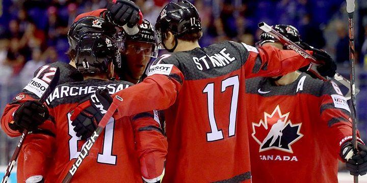 Канада - Финляндия: финал Чемпионата