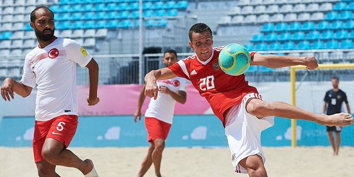 Россия испания пляжный футбол обзор