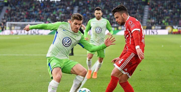 Футбол вольфсбург- хоффенхайм