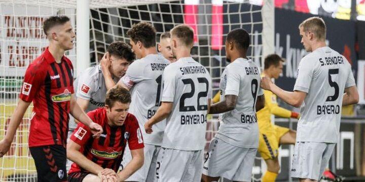 Футбол Саарбрюккен - Байер 9 06 2020 смотреть онлайн